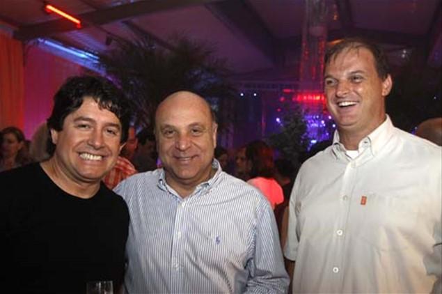 Carlos Carreiras, Silvio Duarte e Evenson Dotto
