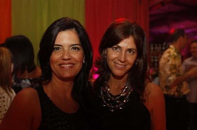 Carmen Vezza e Josiani Duarte