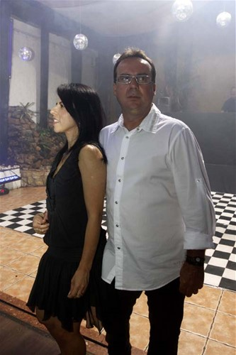 Márcia e Fleury Pieroni