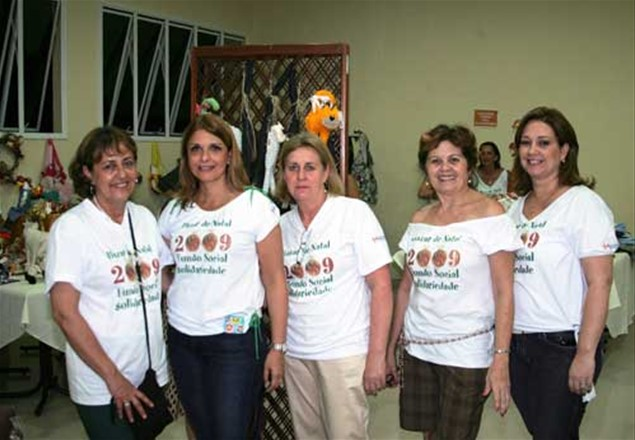 Rosa Maria Tavares, Denise Auricchio, Izabel Veloso, Zilpa  Cavalcanti e Glaucia Cavassani